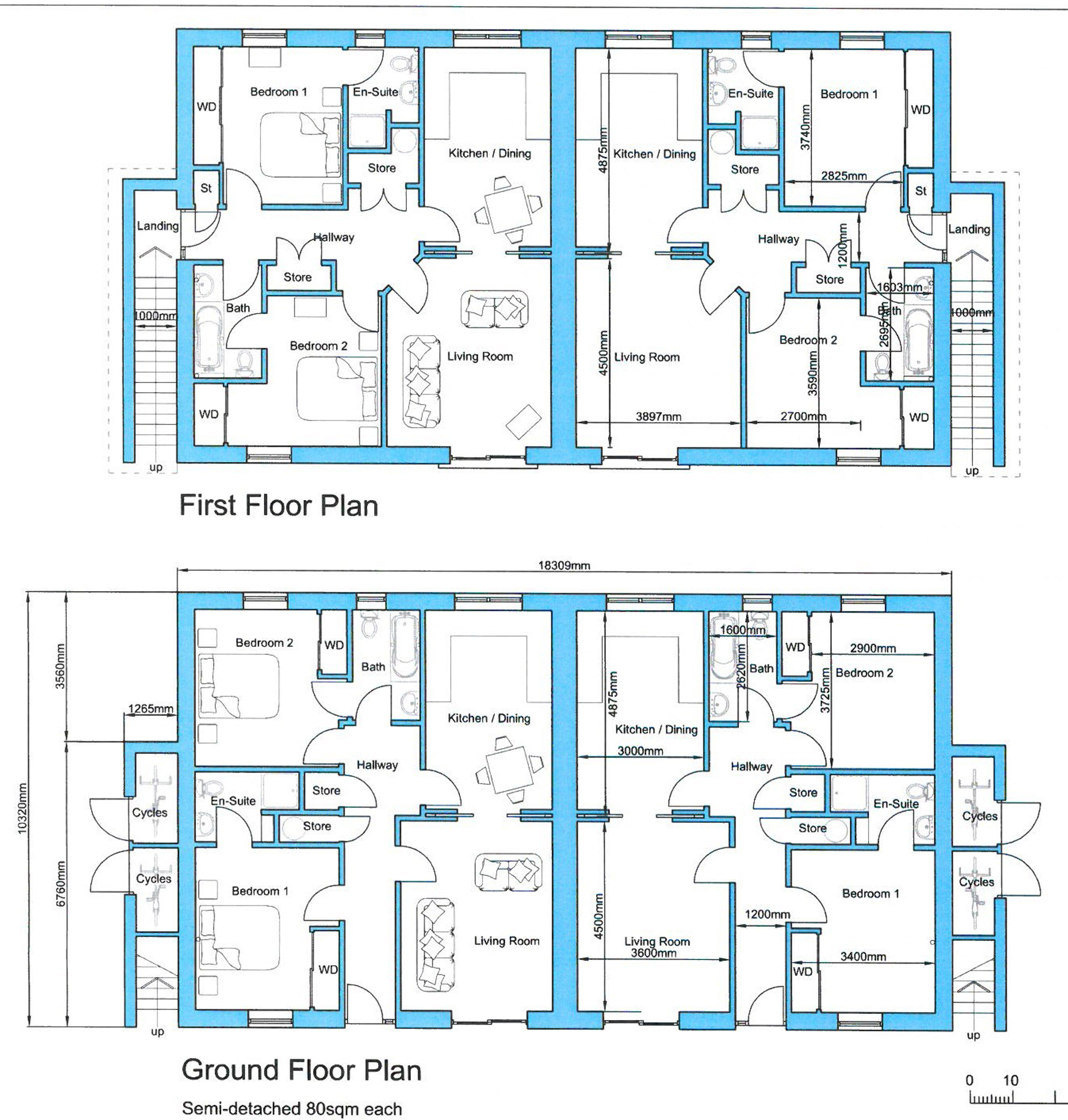 Caledonia estate agency aviemore floor for Floor plans for estate agents